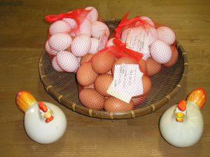ネット入り卵